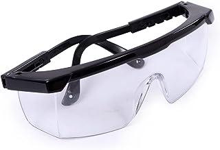 عینک های محافظ لنز HDE عینک محافظ لنز را برای آزمایشگاه های علوم کار عمومی (1 بسته)
