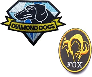 Best metal gear solid patches velcro Reviews