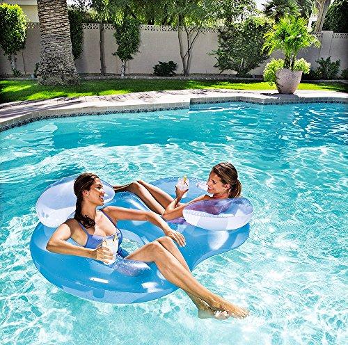 Bestway Flotador doble para piscina #5256