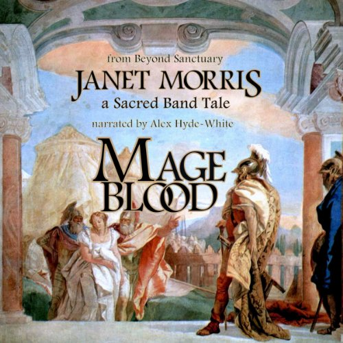 Mage Blood audiobook cover art