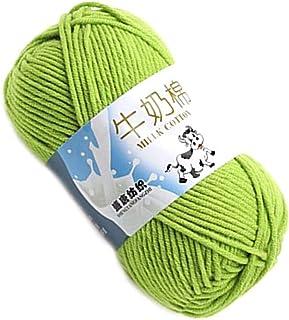 Multi Color Chaud Bricolage Fil de Crochet de Lait Lait Bricolage Fils de Coton Pull bébé Fil à Tricoter Enfants tricoté M...