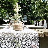 SIZOLACE ® Rose (Spitzen -Optik, Tischläufer, Tischband) 30cm/5m. Blasses ROSA 3010 - 2
