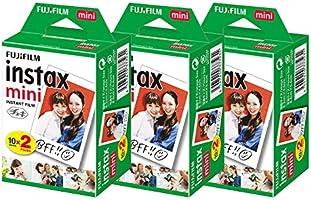 富士膠片 趣奇相紙 instax mini 2包裝品 JP2(20張裝)×3個套裝 [60張]