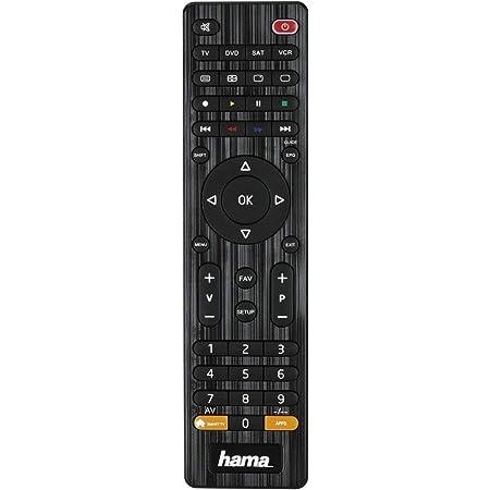 Hama Universalfernbedienung 4 In 1 Smart Tv Schwarz Elektronik