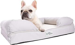 PetFusion Ultimate Dog Bed, Orthopedic Memory Foam. (Small Sandstone, Medium Firmness, Waterproof Liner, YKK Zippers, More...