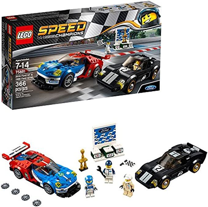 LEGO Speed Champions 6175279 2016 GT & 1966 Ford Gt40 75881