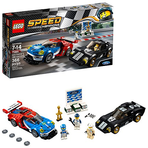 LEGO Speed Champions 2016 For GT 1966 Ford GT40 Construction Set 75881