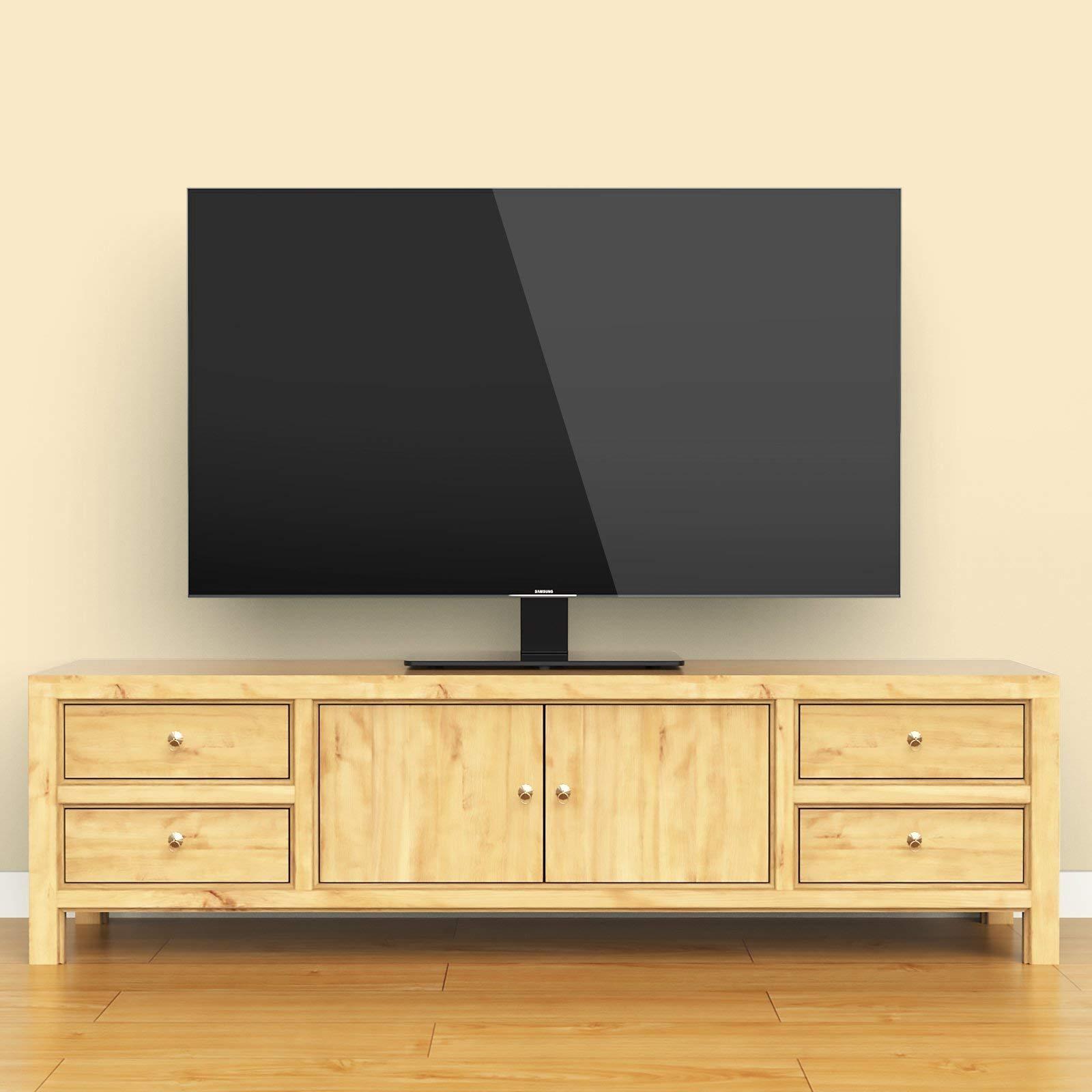 1home Soporte Universal de Pedestal de Televisor con Soporte para ...