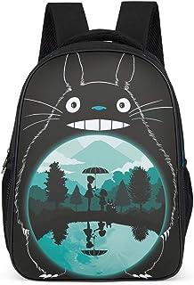 Totoro - Mochila de viaje con estampado de la amistad, estilo japonés, Totoro
