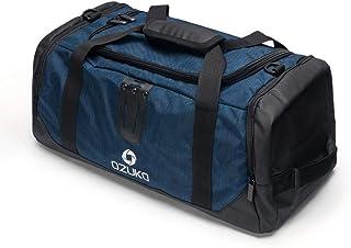 Travel Bag Outdoor Travel Luggage Bag Large-Capacity Leisure Oxford Cloth Bag Multi-Function Shoulder Portable Messenger Bag QDDSP (Color : Blue)