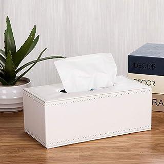 POA Leather Tissue Box Living Room Household Tray Creative Napkin Carton Paper Box