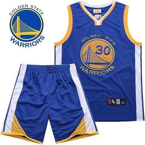 Uniformes sans Manches De Costume De Basket-Ball Et courtes 30 Maillots De Sport pour Hommes,bleu-XXXL