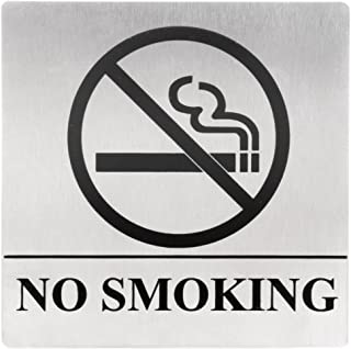 No Smoking, Business Hotel Restaurant Office Sign, Self Adhesive, 5