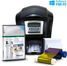 AlphaCard Compass Complete Photo ID Card Printer System with AlphaCard ID Software