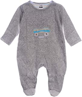 A&O Lama Strampler 62 68 74 80 Nicki Baby Stramplerhose Einteler Velour Schlafanzug Anzug