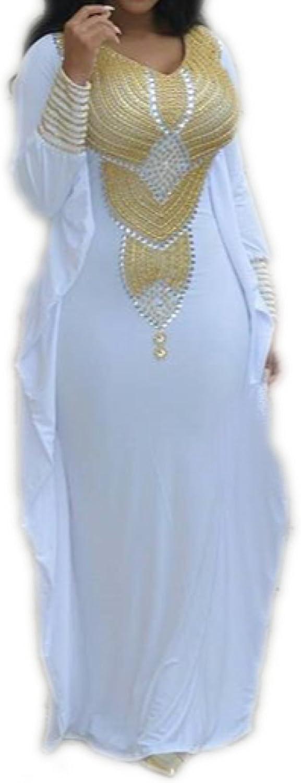 Glambition Kaftan Couture Allena  Fitted Batwing 04  Handbeaded Kaftan, Dress, Abaya Black