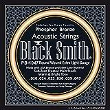 Black Smith 10-47 Jeu de cordes pour Guitare acoustique