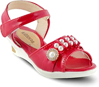 KITTENS Girls Red Sandals