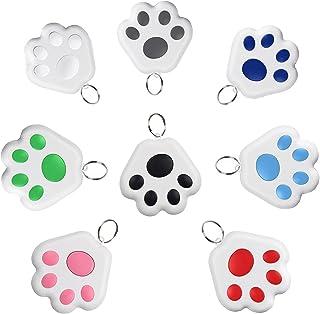 $27 » 8 Pcs GPS Tracker for KidsAnti-Lost Alarm Device Dog Paw Style Mini Cat Dog GPS Tracking Locator Portable Bluetooth Item ...
