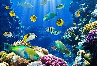 little mermaid aquarium background
