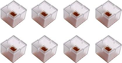 Kelis 8 stuks stoelpootdoppen siliconen, siliconen stoeldoppen voetpads (#17)
