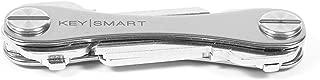 KeySmart Classic - Compact Key Holder and Keychain Organizer (Titanium)