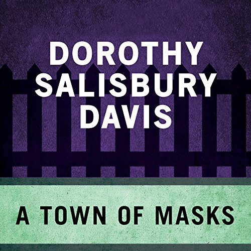 A Town of Masks audiobook cover art