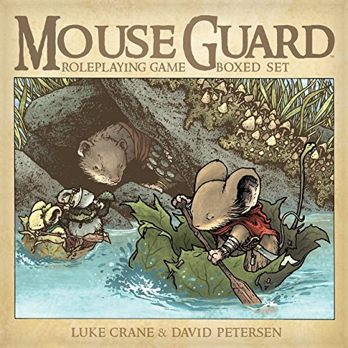 Mouse Guard RPG - 2nd Edition Box Set