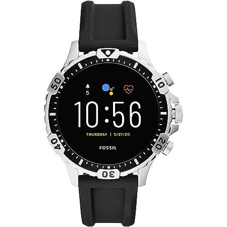 [フォッシル] 腕時計 タッチスクリーンスマートウォッチ ジェネレーション5 FTW4041 メンズ 正規輸入品 ブラック