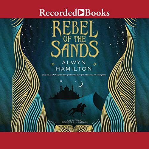Rebel of the Sands audiobook cover art