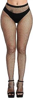CozyWow Netzstrümpfe Reich Gemusterte Netz Strumpfhose mit Hoher Taille und Verschiedenen Farben und Strumpfhose für Frauen