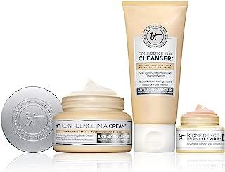 confidence in a cream set