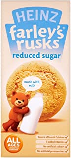 Heinz All Ages 4-6 Months Onwards Farley's Rusks Reduced Sugar 150g