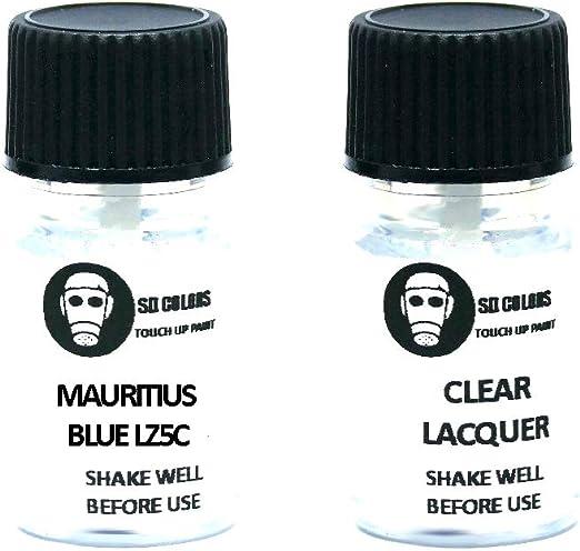 Sd Colors Mauritius Blue Lz5c Lackreparaturfarbe 5 Ml Mit Pinsel Farbcode Lz5c Farbe Mauritiusblau Just Paint Auto