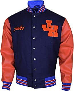 Mens Not Another Teen Evans Bomber Varsity Letterman Jacket