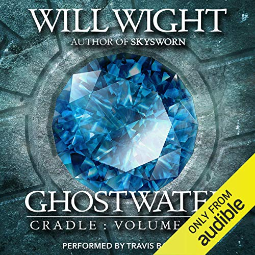 Ghostwater audiobook cover art