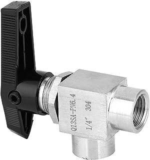 Ventiel, binnendraad, eenvoudig aan te sluiten BSPP binnendraad BSPP ventiel, olieverwarming voor gaswater(Zwart handvat 1/4)