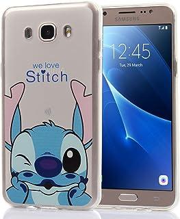 355ad2deab2 Funda transparente de silicona con diseño de dibujos animados Disney  para Samsung Galaxy J7
