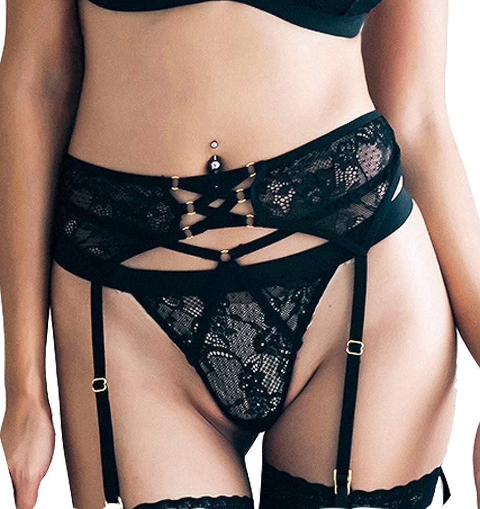 The victory of cupid Womens Eyelash lace Bra and Panties Set Babydoll Bralette Underwear Sleepwear Nightwear Teddy