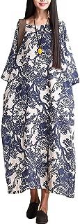 Women's Printing Dress Travel Line Clothing