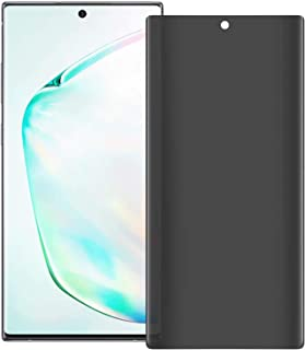 Al-HuTrusHi Galaxy Note 10 Privacy Screen Protector, Protective Film[3D Curved] [Case Friendly] 9H Hardness Anti-Spy Tempe...