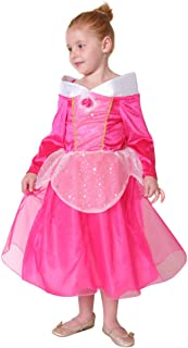 Storybook Wishes Hot Pink Sleeping Beauty Dress (Choose Size)