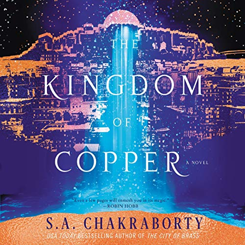 The Kingdom of Copper audiobook cover art