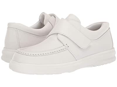 Hush Puppies Gil (White Leather) Men