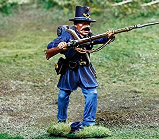 Civil War Toy Soldiers 2nd Wisconsin Iron Brigade Infantry Parry Battle of Gettysburg Figure Collectors Showcase Toy Soldiers Painted Metal Figure 1/32 Britains King Country Gunn First Legion Type CS00850