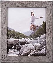 إطار صور خشبي Linear GrayWash عريض، من تصميمات مالدن العالمية، 20.32 سم × 25.4 سم، رمادي