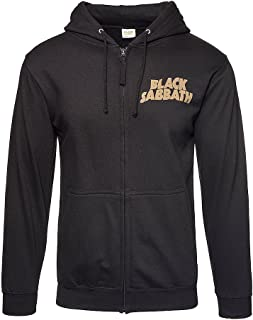 Black Sabbath Unisex-Adult's Official 1978 Tour Hoodie (Black)