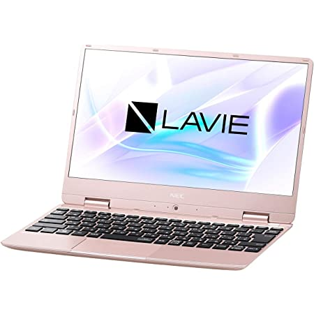 NEC LAVIE Note Mobile NM550/RAG(メタリックピンク)- 12.5型モバイルノートPC[Core i5 / メモリ 8GB / SSD 256GB]Microsoft Office Home & Business 2019 PC-NM550RAG