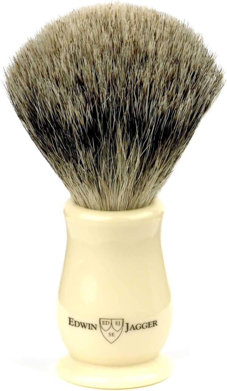 新作 人気 Edwin Jagger Chatsworth Best 市場 Badger Imitation Shaving Ivo Brush