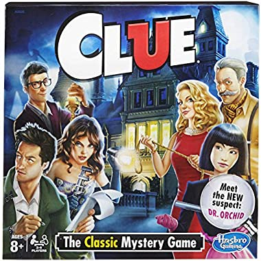 Hasbro Clue Board Game - The Classic Mystery